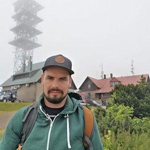 Dajik90 na vrcholu Malý Javorový (7.7.2019 17:28)