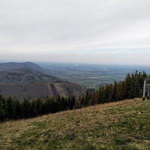 karina gasova na vrcholu Malý Javorový (19.4.2020 14:13)