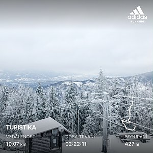 matygawlasova na vrcholu Malý Javorový (6.2.2020 8:01)