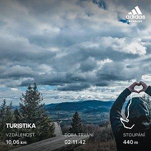 matygawlasova na vrcholu Malý Javorový (12.3.2020 7:00)
