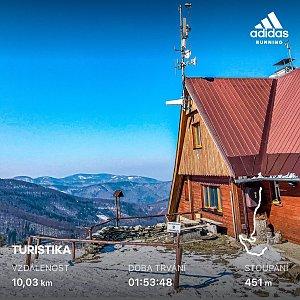 matygawlasova na vrcholu Malý Javorový (25.3.2020 9:15)