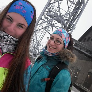 Paula Siudová na vrcholu Malý Javorový (2.3.2019 11:00)