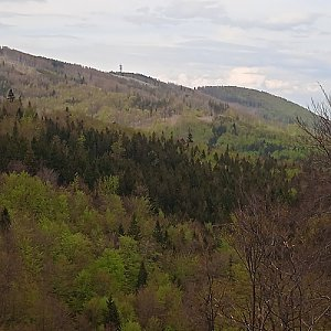 karina gasova na vrcholu Malý Javorový (15.5.2021 15:02)