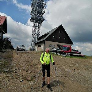 Jaroslav Hrabuška na vrcholu Malý Javorový (20.5.2021 12:15)