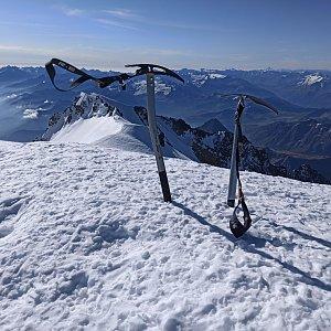 michalzhor na vrcholu Mont Blanc / Monte Bianco (15.9.2020 17:13)