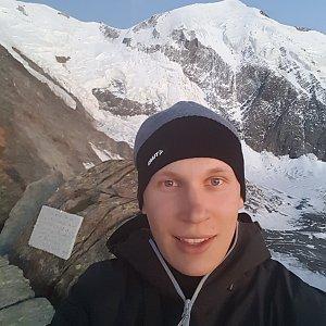 michal čech na vrcholu Mont Blanc (7.7.2017 9:55)
