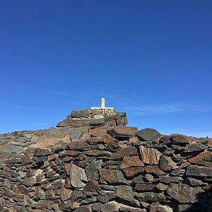Jenda na vrcholu Mulhacén (24.6.2019 8:00)