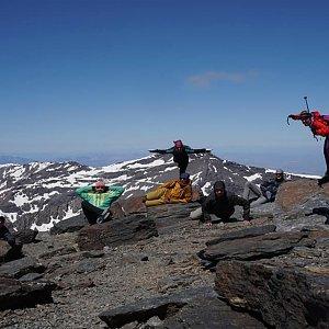 Léňa Manová na vrcholu Mulhacén (19.5.2019 11:00)