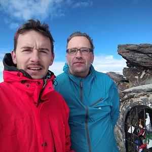 Martin Konvičný na vrcholu Mulhacén (6.11.2019 12:01)