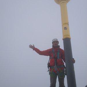 Martin Konvičný na vrcholu Zugspitze (11.7.2018 13:36)