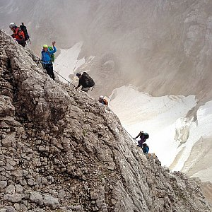 Martin Matějka na vrcholu Zugspitze (22.7.2017 14:05)