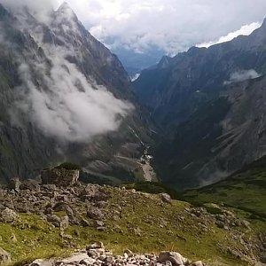 Honza Bageta Behensky na vrcholu Zugspitze (20.8.2017 16:00)