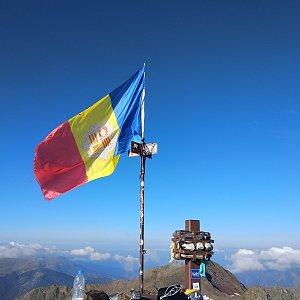 Jenda na vrcholu Coma Pedrosa (22.8.2018 9:18)