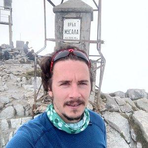 Martin Konvičný na vrcholu Musala (30.7.2019 12:23)