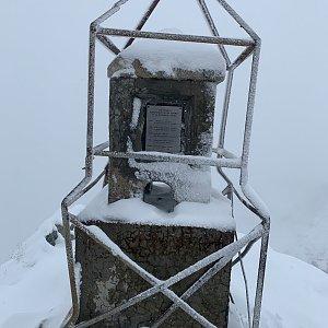 Jenda na vrcholu Musala (8.10.2020 14:05)