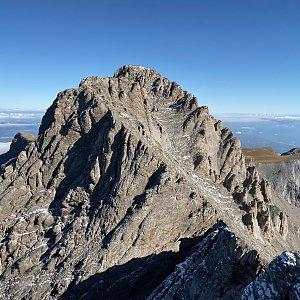 Jenda na vrcholu Mytikas (9.10.2019 11:45)