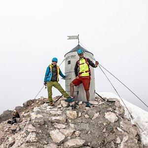 Jirka Cimler na vrcholu Triglav (14.8.2020 12:19)