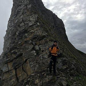 Jenda na vrcholu Vorder Grauspitz (12.6.2018 9:17)