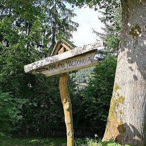 Jana F na vrcholu Pomník Maryčky Magdonové (11.7.2021 9:30)