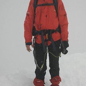 Martin Konvičný na vrcholu Kebnekaise (3.9.2016)
