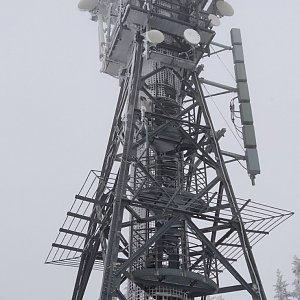 Petr T. na vrcholu Černá hora (15.2.2020 9:49)