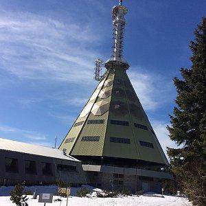 Iveta Steinerová na vrcholu Černá hora (5.4.2020 14:37)