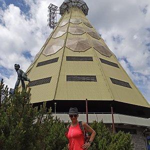 Pavlína Sýkorová na vrcholu Černá hora (10.7.2020 13:00)
