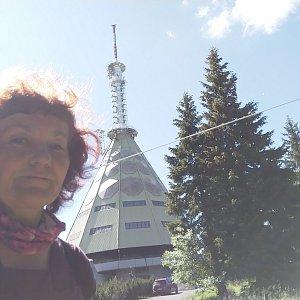 Anna na vrcholu Černá hora (14.7.2020 15:31)