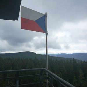 Petra Kosarkova na vrcholu Černá hora (23.6.2021 20:25)