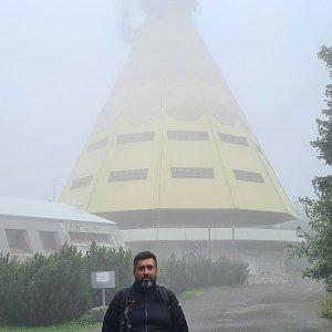 Jiří Gryz na vrcholu Černá hora (23.8.2021 11:34)