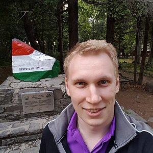 michal čech na vrcholu Kékes (8.7.2018 19:24)
