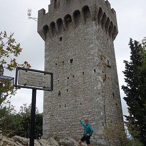 Patejl na vrcholu Monte Titano (26.8.2018 16:10)