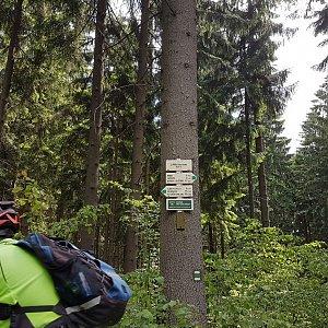 Marcela Kubíčková na vrcholu Lány (13.6.2021 14:25)
