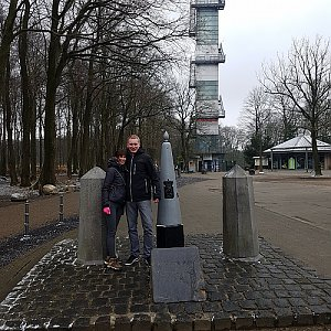 michal čech na vrcholu Vaalserberg (17.3.2018 10:45)