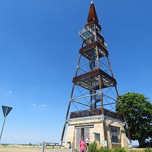 Iveta Válová na vrcholu Čížovka (18.6.2021)
