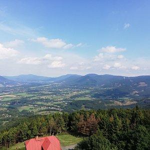 Martin Vlček na vrcholu Velký Javorník (14.8.2019 16:11)