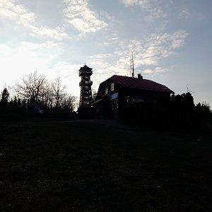 Iva Purmenská na vrcholu Velký Javorník (20.3.2020 17:01)