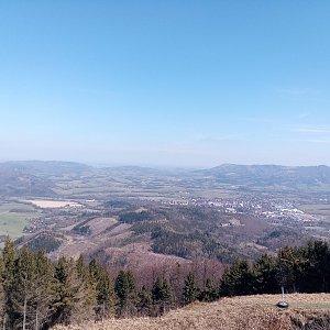 Milan Meravy na vrcholu Velký Javorník (10.4.2020 15:01)