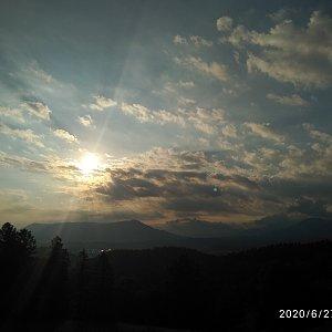 Alžběta Šlosarová na vrcholu Velký Javorník (27.6.2020 6:42)