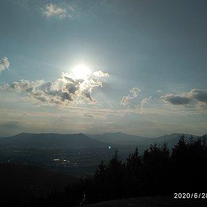 Alžběta Šlosarová na vrcholu Velký Javorník (28.6.2020 6:43)