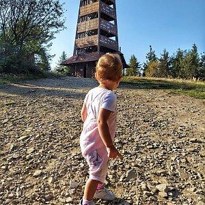 Majky na vrcholu Velký Javorník (15.9.2020 22:43)