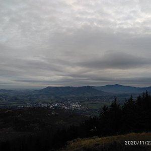 Alžběta Šlosarová na vrcholu Velký Javorník (23.11.2020 7:29)