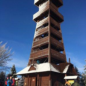 Jarek na vrcholu Velký Javorník (31.12.2020 10:30)