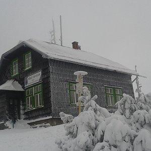 ŠenovKK na vrcholu Velký Javorník (6.1.2019 11:08)