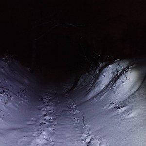 Milan Meravy na vrcholu Velký Javorník (18.1.2021 17:57)