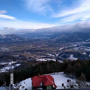 Alda na vrcholu Velký Javorník (2.2.2019 12:09)