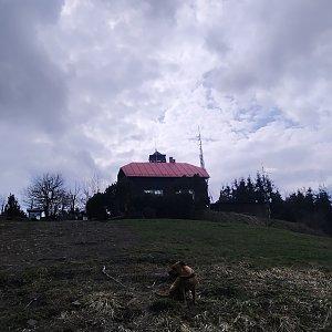 Katy na vrcholu Velký Javorník (3.5.2021 16:13)