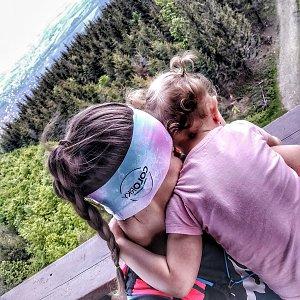 Majky na vrcholu Velký Javorník (3.6.2021 15:04)