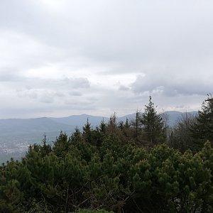 Martin Vlček na vrcholu Velký Javorník (4.5.2019 15:05)