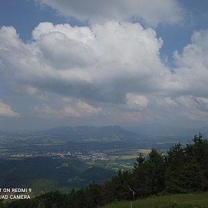 Alžběta Šlosarová na vrcholu Velký Javorník (22.6.2021 15:06)